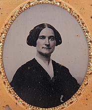 Twelve Early Photographs, Daguerreotypes, Ambrotypes, Portraits of Women