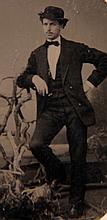 A Group of Tintype Portraits on CDV