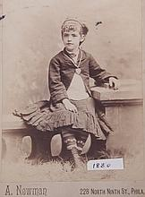 A Group of Late 19th Century Cabinet Cards
