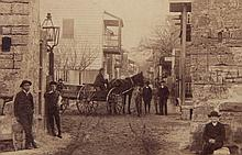 A Group of Early American Photographs, Cityscapes and Landscapes