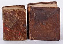 Two 19th Century Miniature Bibles