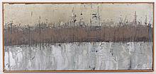 William Grosvenor Congdon  (1912 - 1998) Oil on Panel