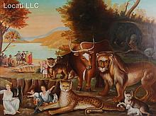 the peaceable kingdom edward hicks meaning