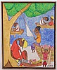 Seymour Etienne Bottex (Haitian, 1920/22 - ) Oil on Board, Seymor E. Bottex, Click for value