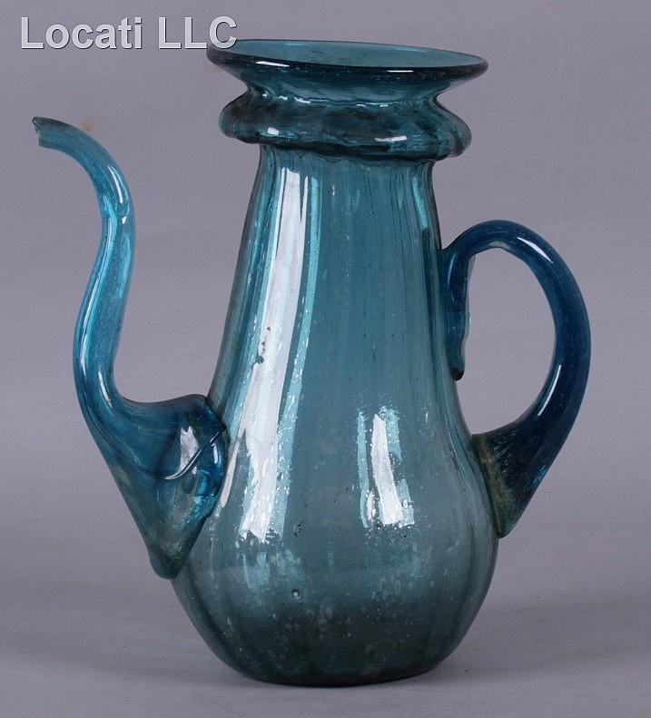 Italian Glass Coffee Maker : A Venetian Glass Coffee Pot