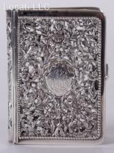 A Sterling Silver Book Cover, English