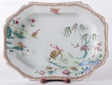 A Chinese Export Porcelain Platter, 18th Century