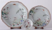 Three Pieces of 18th Century Chinese Porcelain