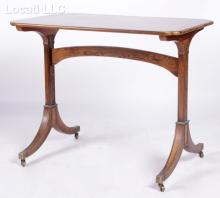 A Baker Woburn Abbey Collection Rosewood Tea Table