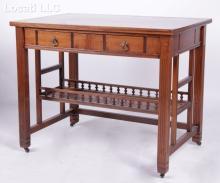 A Mahogany Desk Circa 1890
