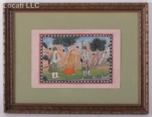 Indian School, Gouache on Paper, 19th Century