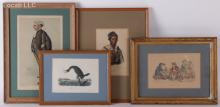Estate Lot: Prints Including Spy for Vanity Fair