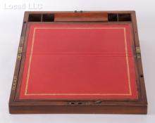 A 19th Century English Mahogany Lap Desk