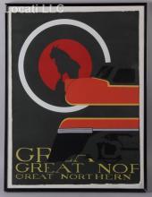 A Modern Serigraph, Great Northern Railroad