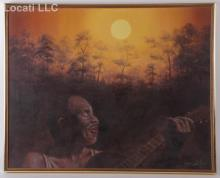 Joe Sambataro (b. 1947) Oil on Canvas