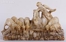Att. Charles Korschann (1872 - 1943) Marble Sculpture