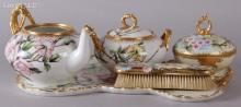 A Group of Estate Porcelain, Hand Painted Limoges