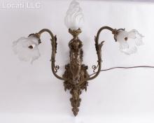 A Renaissance Revival Bronze Sconce