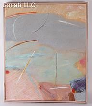 Helen Bershad (American, b. 1934) Oil on Canvas