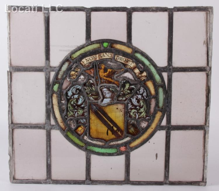 an 18th century stained glass window shakespeare 39 s coat of