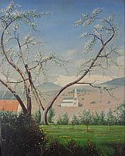 American School, 20th Century, Oil on Artist Board