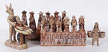 Four Pieces of South American, Mexican Ceramics