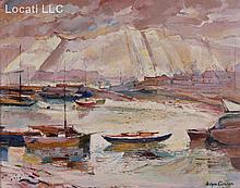 Alfons Purtscher (Austrian, 1885 - 1962) Oil on Canvas