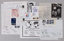A Large Group of Signed Space Memorabilia, First Day Covers