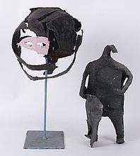 Two 20th Century Metal Sculptures