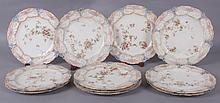 A Set of Doulton Burslem Cabinet Plates