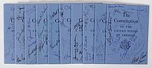 A Collection of Signatures, All 100 Members of the U. S. Senate, 1973-75