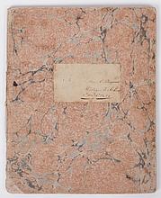An 1820 American Schoolgirl Notebook