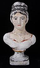 A Mid 19th Century Chalk Bust