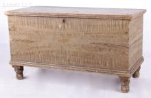 An American 19th Century Grain Painted Blanket Chest