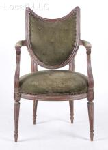 A French Louis XVI Style Armchair