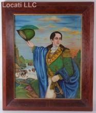 South American School, Early 19th Century, Portrait of an Officer