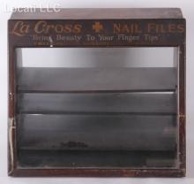 A Vintage La Cross Display Cabinet