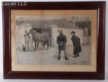 A Photogravure After J. C. Dollman