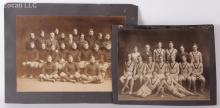 Two Early Athletic Team Photographs, Harvard