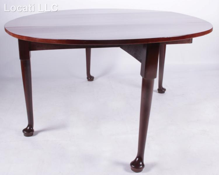 An English Queen Anne Circular Dining Table : H4529 L112379895 from www.invaluable.co.uk size 750 x 602 jpeg 24kB