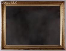American 19th Century Gilt Mirror