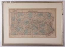 A 19th Century Map of Pennsylvania