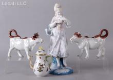 Estate Lot of Porcelain Including Herend
