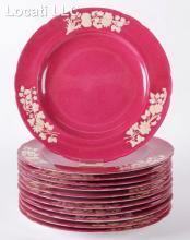 A Set of 12 Copeland Spode Dinner Porcelain Dinner Plates