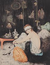 William Ablett (1877 - 1937) Etching