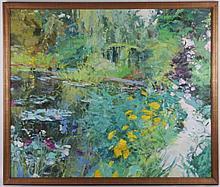 Rose Naftulin (20th century) Oil on Canvas