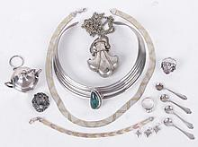 Grouping of Sterling and other Silver