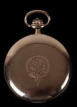 A 14k Gold Omega Pocket Watch