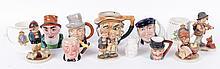 Estate Lot: Toby Mugs, Hummel Figures, Coronation Mugs