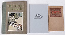 Three Volumes Regarding Cats Including